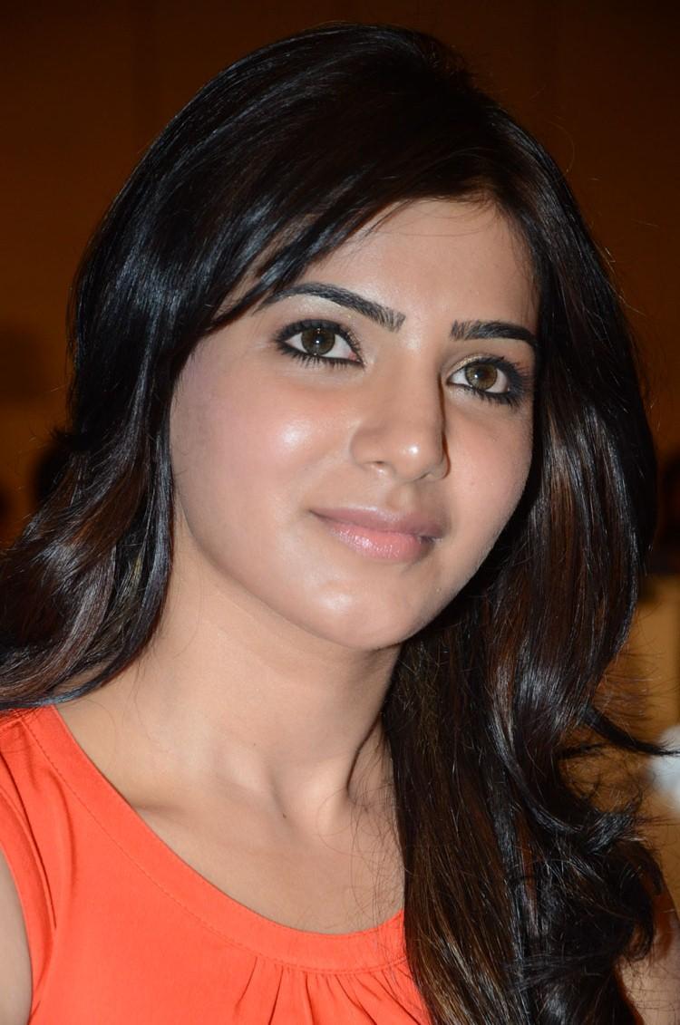 Samantha Charming Face Look At Bangaru Kodipetta Movie Audio Launch Function