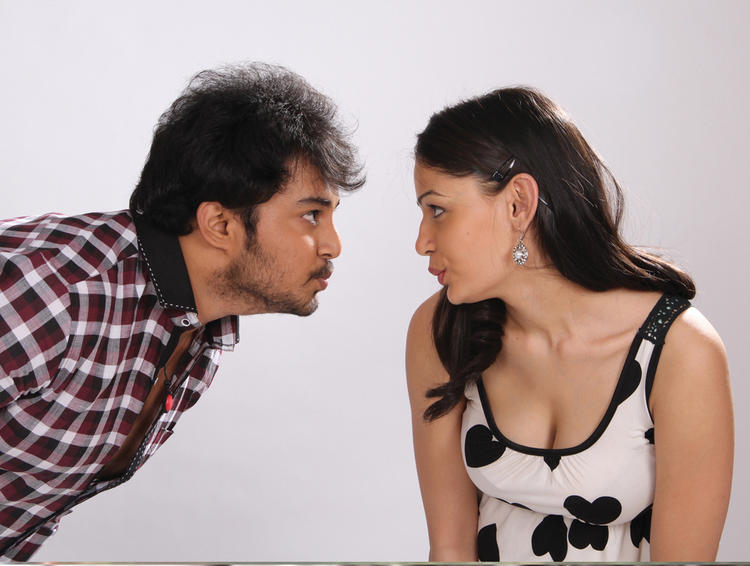 Rupal Hot With Tanish In Band Baaja Movie