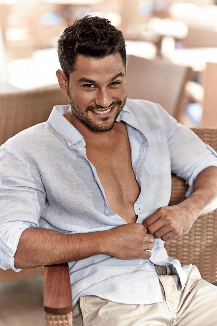 Kunal Khemu Open Shirt Sexy Pic For Filmfare - July Issue