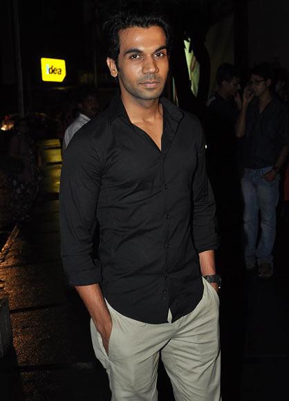 Rajkumar Yadav Snapped At Success Bash Of Lootera