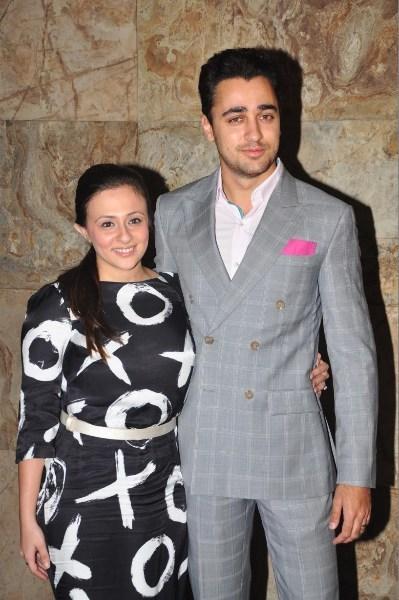 Aamir Khan's Nephew Imran Khan And Imran's Wife Avantika Attended The Screening Of  Ship Of Theseus