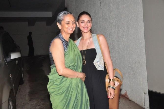 Aditi Rao Hydari Spotted At The Special Screening Of Ship Of Theseus