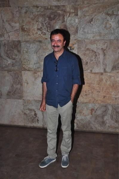 Rajkumar Hirani Smiling Pose At The Special Screening Of Ship Of Theseus