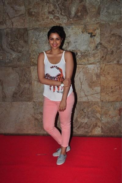 Parineeti Chopra Attended The Screening Of Ship Of Theseus At Aamir And Kirans Home