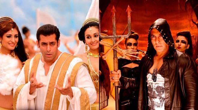 Salman Khan Dazzling Look And Danger Look For Bigg Boss New Session