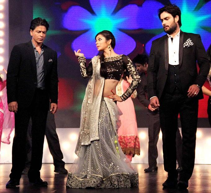 SRK,Drashti And Vivian Rocked On The Sets Of Madhubala Ek Ishq Ek Junoon During The Promotion Of Chennai Express