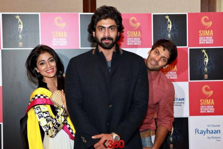 Shriya,Rana And Arya Launched The 2nd Edition Of SIIMA Awards 2013