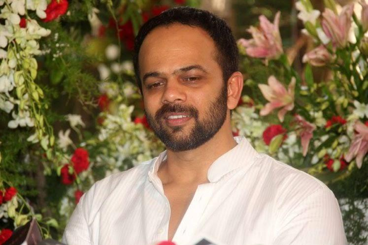 Rohit Shetty Cool Smiling Look During The Celebration Of Eid At SRK's Bungalow Mannat