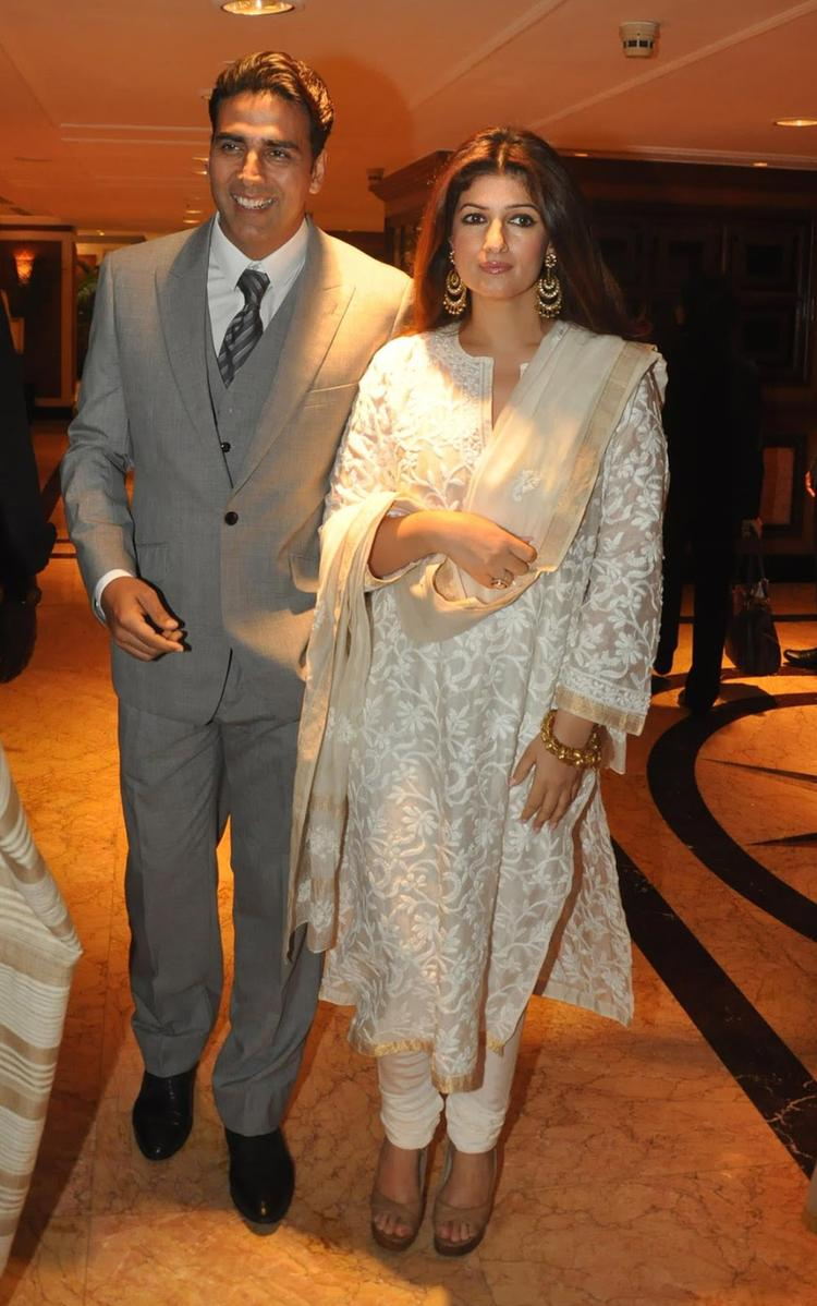Akshay And Twinkle Snapped At Rajesh Khanna's Statue Launch Event