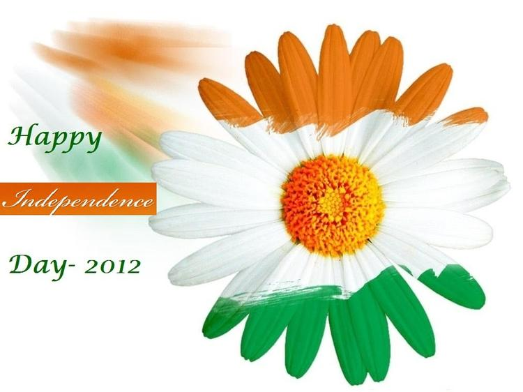 Indian Flag Independence Day Greeting Cards