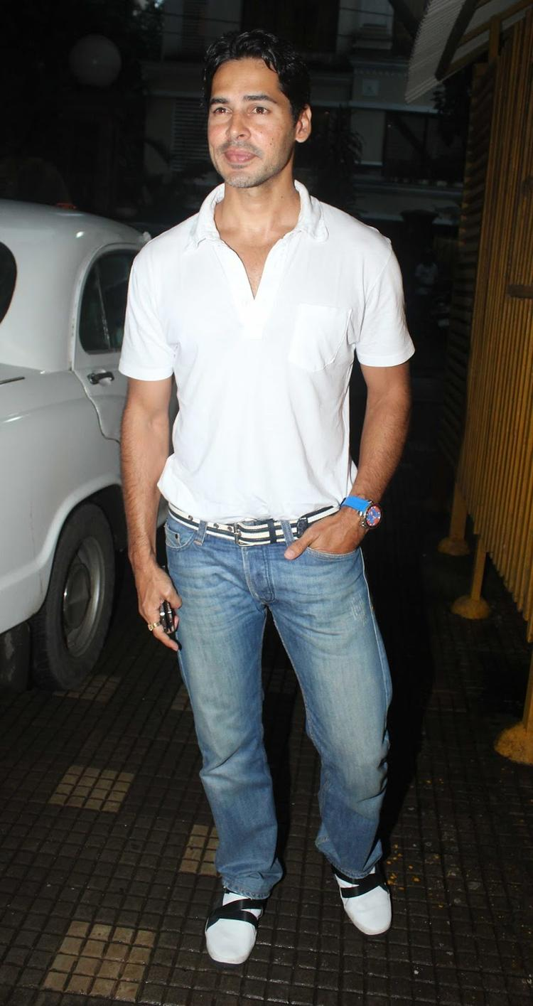 Dino Morea Arrives At The Special Screening Of OUATIMD