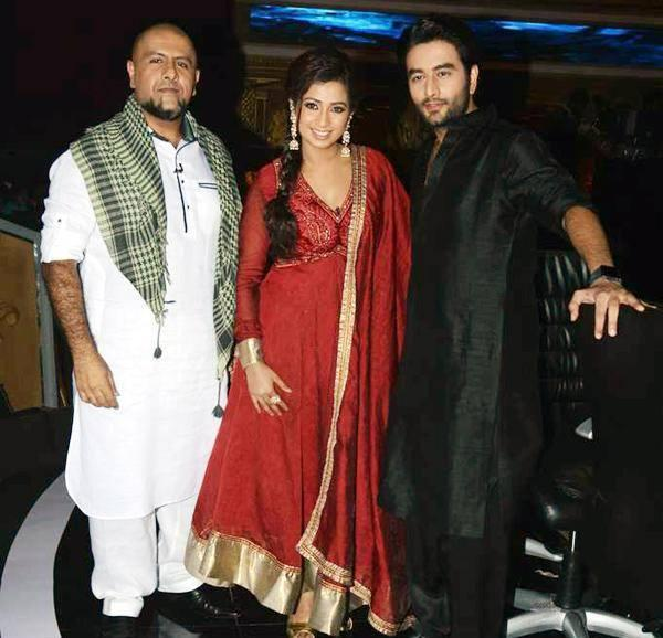 Indian Idol Junior Reality Show Judges Pose For Photo Shoot