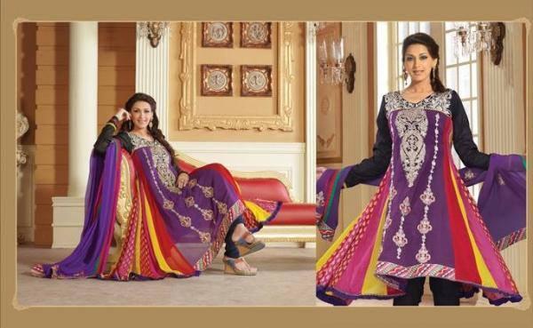 Sonali Bendre In Indian Designer Wear Cool Look Photo Still
