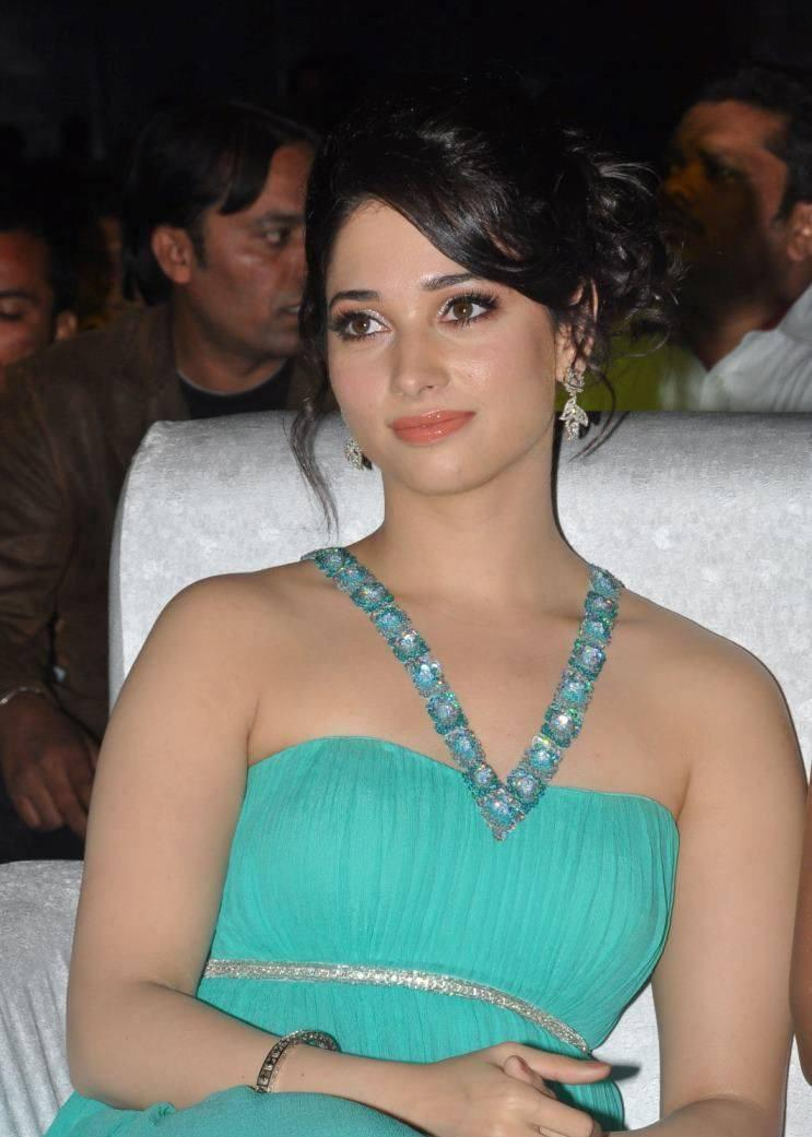 Tamannaah Bhatia Fashionable Look During The Tollywood Cinema Channel Launch Event