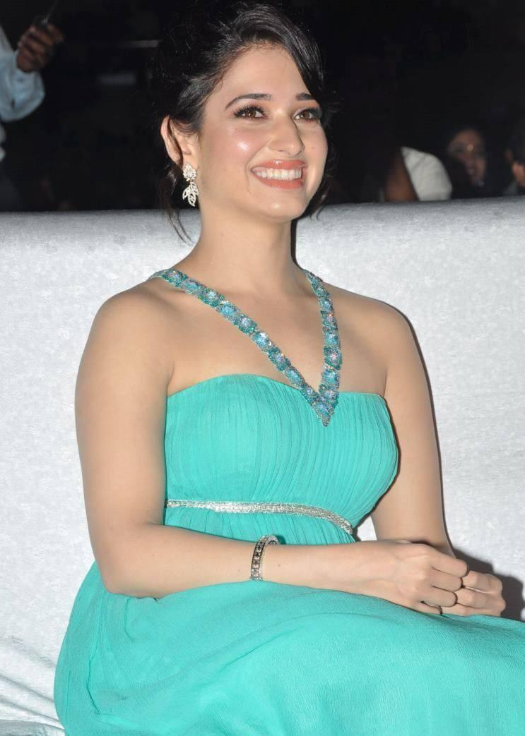 Tamannaah Bhatia Milky Stunning Look At Tollywood Cinema Channel Launch Event