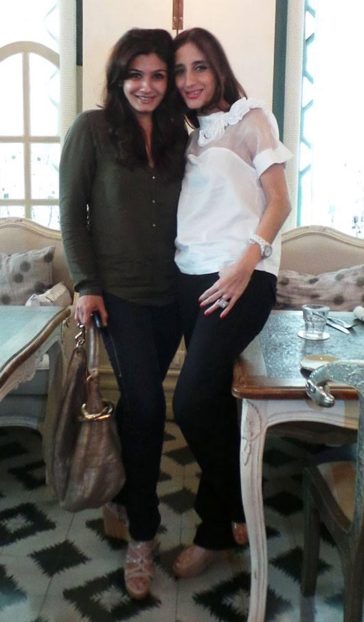 Raveena And Farah Nice Photo Still
