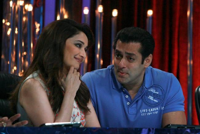 Madhuri And Salman Funny Mood On The Sets Of Jhalak Dikhhla Jaa 6