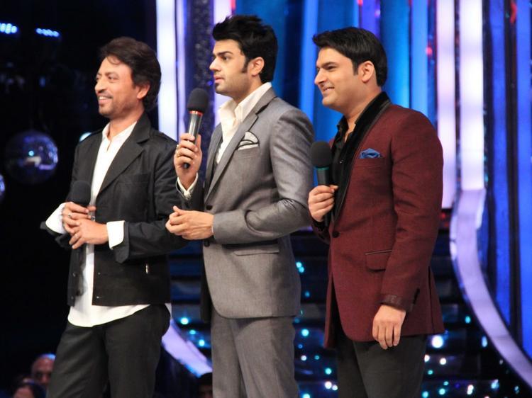 Irrfan Khan,Manish and Kapil On The Sets Of Jhalak Dikhhla Jaa Season 6