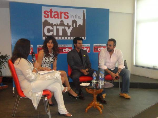 Priyanka And Ram Charan Visit At Hindustan Time's Stars In The City During The Promotion Of Zanjeer