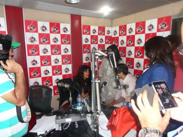 Priyanka Chopra During The Promotion Of Zanjeer At Fever 104 FM Radio Station