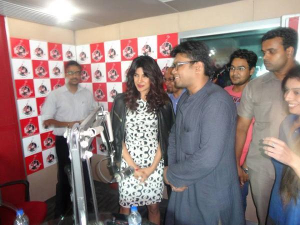 Priyanka Chopra At Fever 104 FM Radio For Promoting Zanjeer