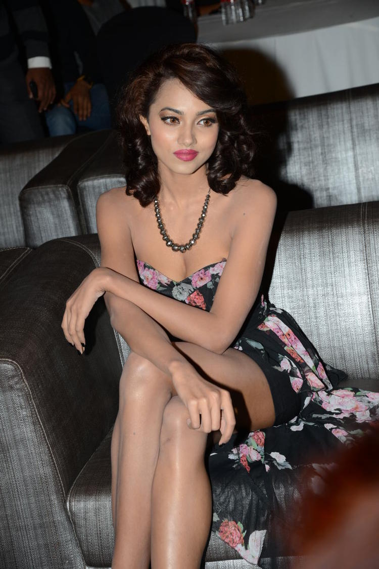 Aaradhana Hot Still During Satya 2 Movie Audio Release Event