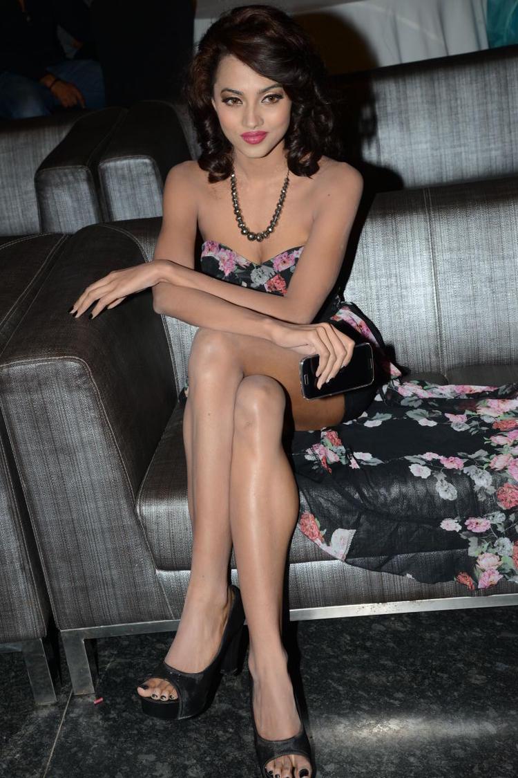 Most Beautiful Aaradhana During Satya 2 Movie Audio Release Event