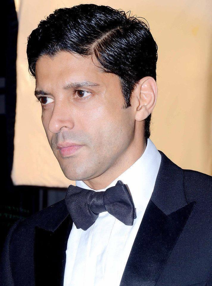 Farhan Akhtar Handsome Look At GQ Men Of The Year Awards 2013