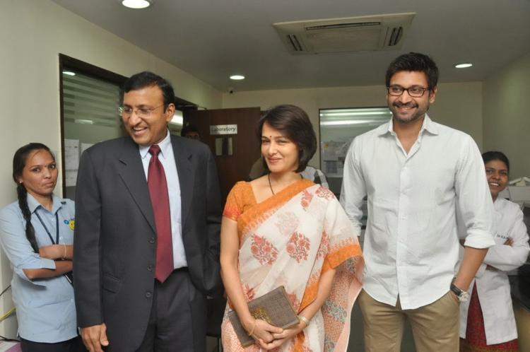 Amala Akkineni And Sumanth Inaugurate The United Hospitals At Madhapur, Hyderabad