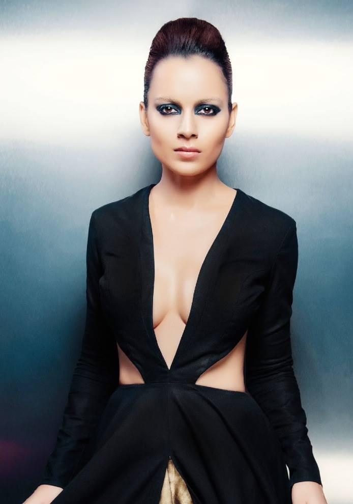 Kangna Ranaut Stunning Hot Look Shoot For CineBlitz Magazine October 2013