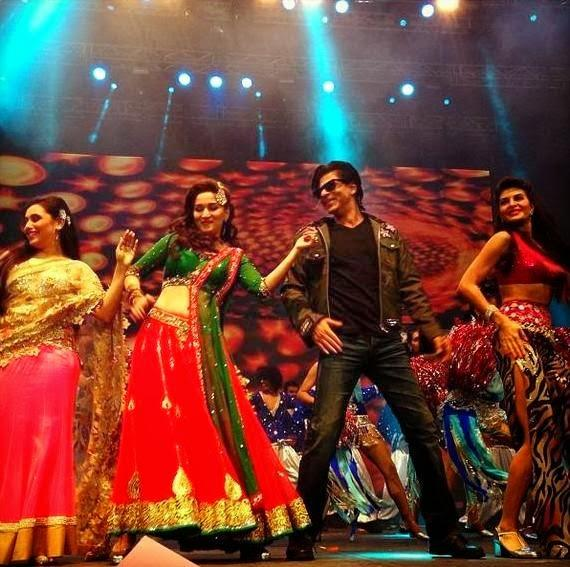 SRK,Rani,Madhuri And Jacqueline Set On The Fire At Temptations Reloaded 2013 In Sydney