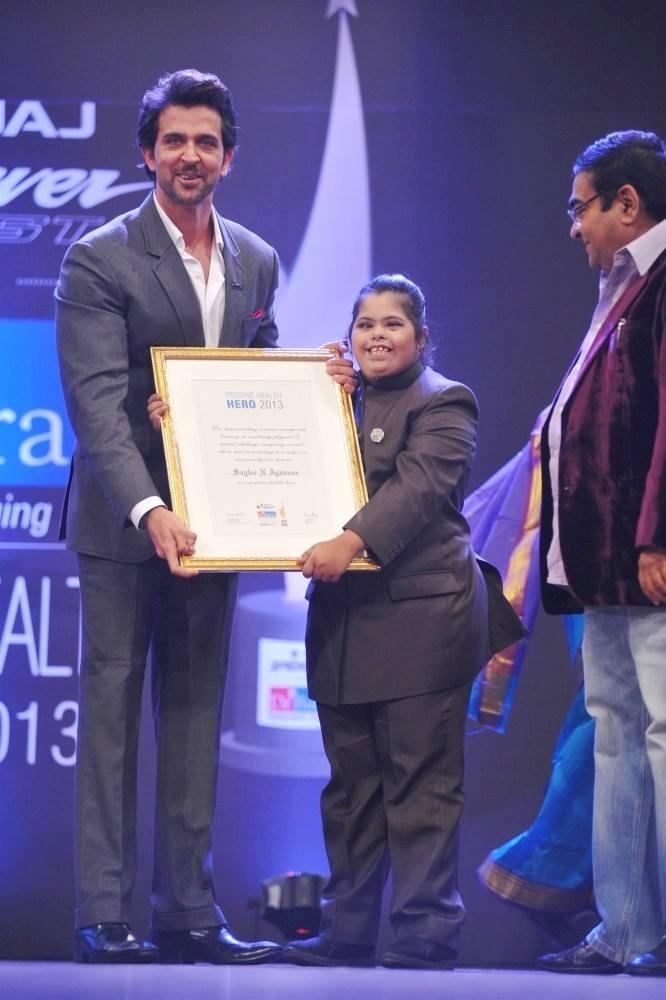 Krrish 3 Actor Hrithik Roshan Attended Dr. Batra's Positive Health Care Award On 8 October In Mumbai