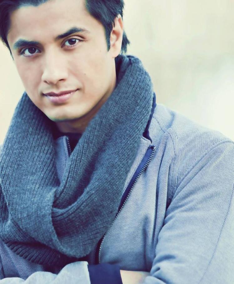 Ali Zafar Dashing Pose Photo Shoot For Hello India 2013