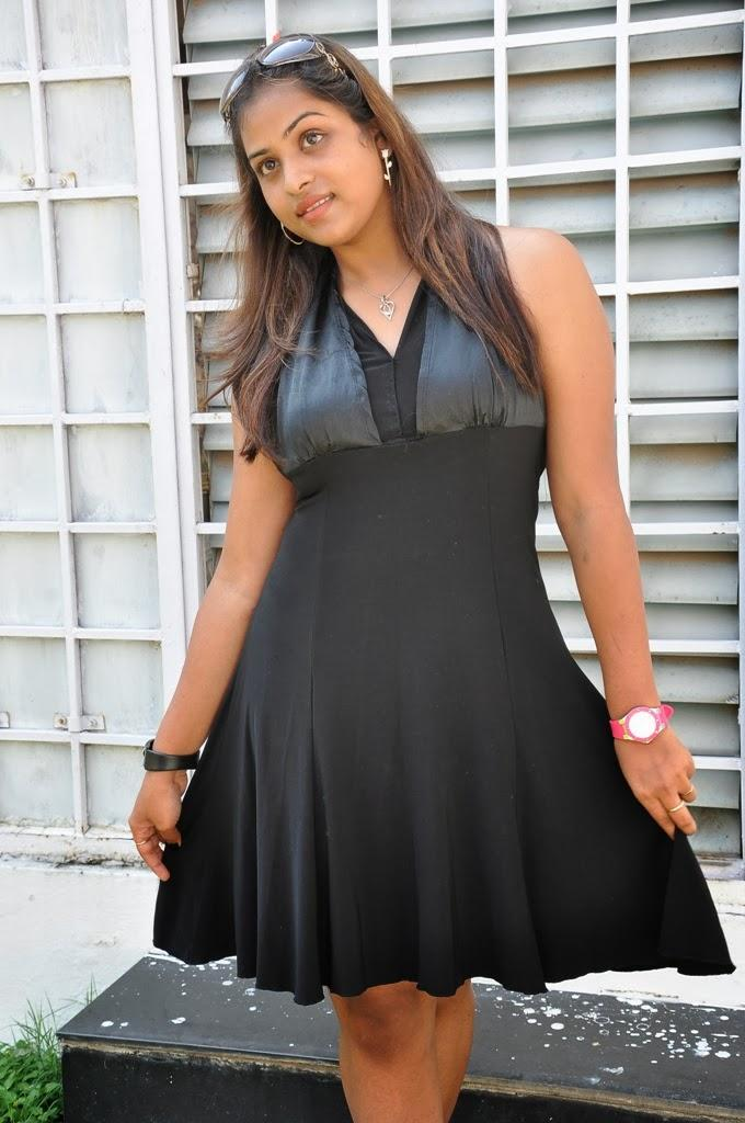 Hemalatha Sweet Pose Photoshoot At Roots Film Creations Pro.No.1 Movie Opening In Hyderabad
