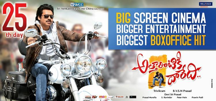 Pawan Kalyan Attarintiki Daredi Movie Wallpaper Latest Pic