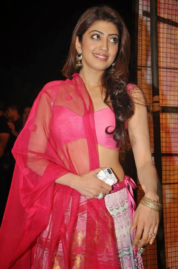 Pranitha Subhash Sexy Hot Look During The Thank You Press Meet Function Of Attarintiki Daredi Movie