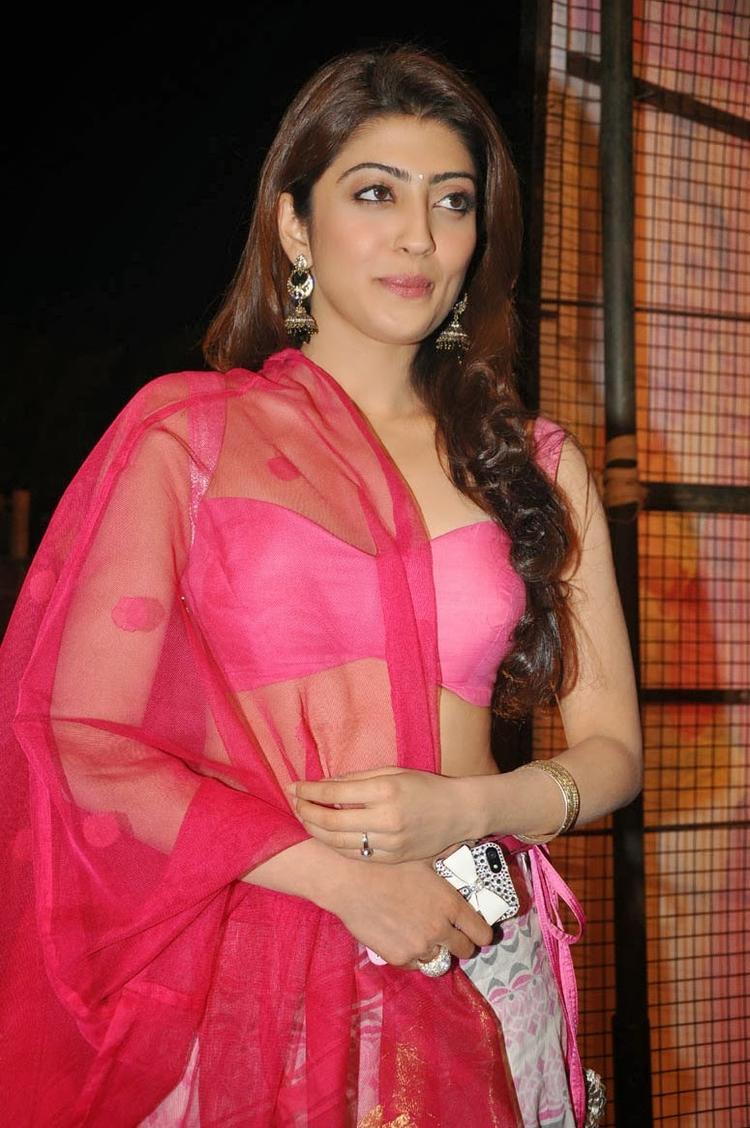 Pranitha Subhash Stunning Look During The Thank You Press Meet Function Of Attarintiki Daredi Movie