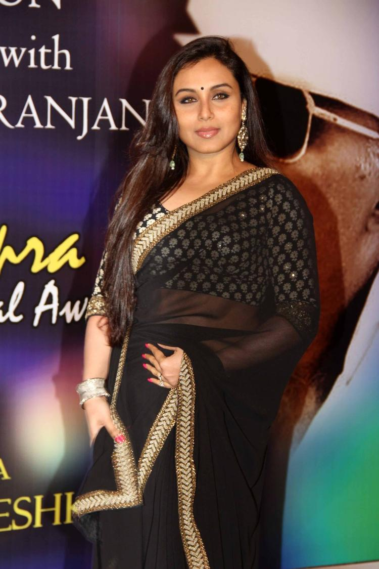 Rani Mukherjee Attended The Yash Chopra Memorial Awards Ceremony