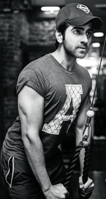 Ayushmann Khurrana Photo Shoot In Gym For Filmfare November 2013