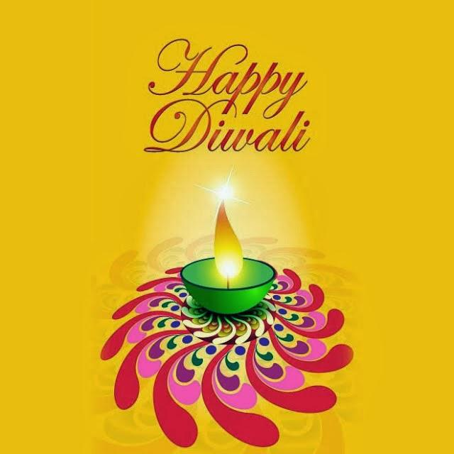 Happy Diwali Diya Beautiful Wallpaper