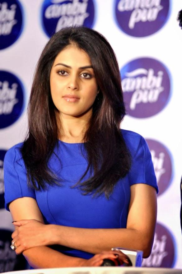 Genelia Unveiled Ambi Pur's Refresh Your Love Campaign