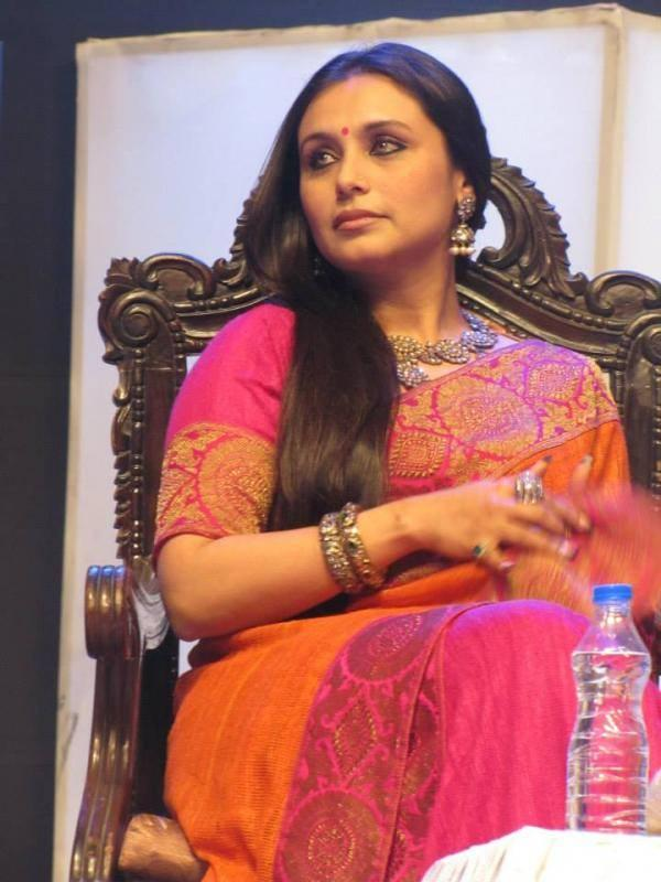 Gorgeous Rani Mukherjee Nice Look At Kolkata International Film Festival 2013