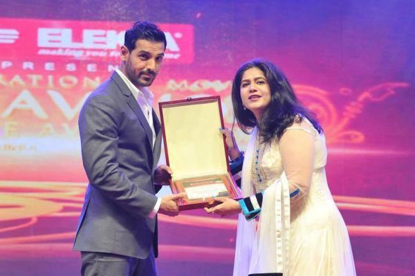 John Abraham Awarded At Asiavision Awards 2013