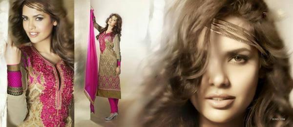 Esha Gupta Stunning Face Still During The Photo Shoot Of New Designer Wear