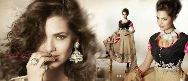 Glamour Esha Gupta Pretty Pose Photo Shoot For New Designer Wear