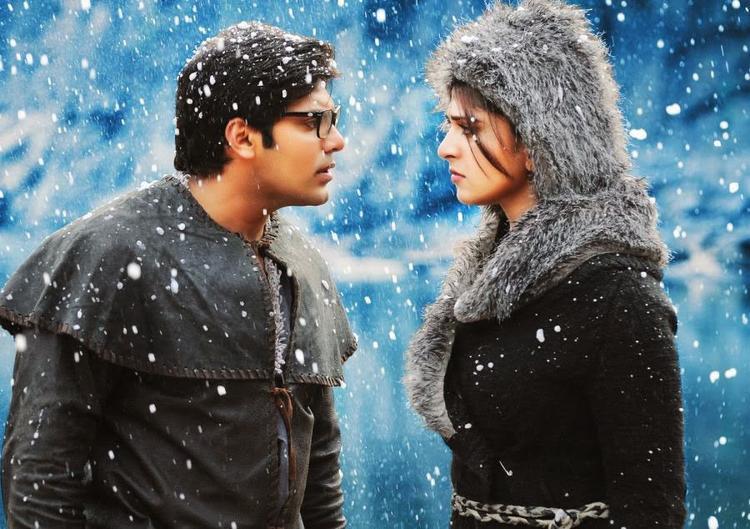 Arya And Anushka Shetty A Still Of Varna Telugu Movie