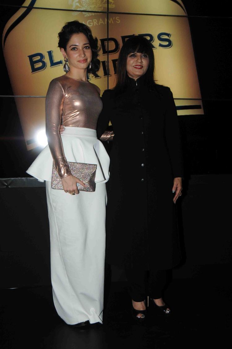 Tamanna And Neeta At Blender's Pride Fashion Tour 2013 Mumbai Day 2 Event