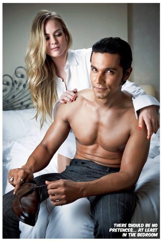Randeep Hooda Shirtless Sexy Still On The Cover Of Filmfare December 2013