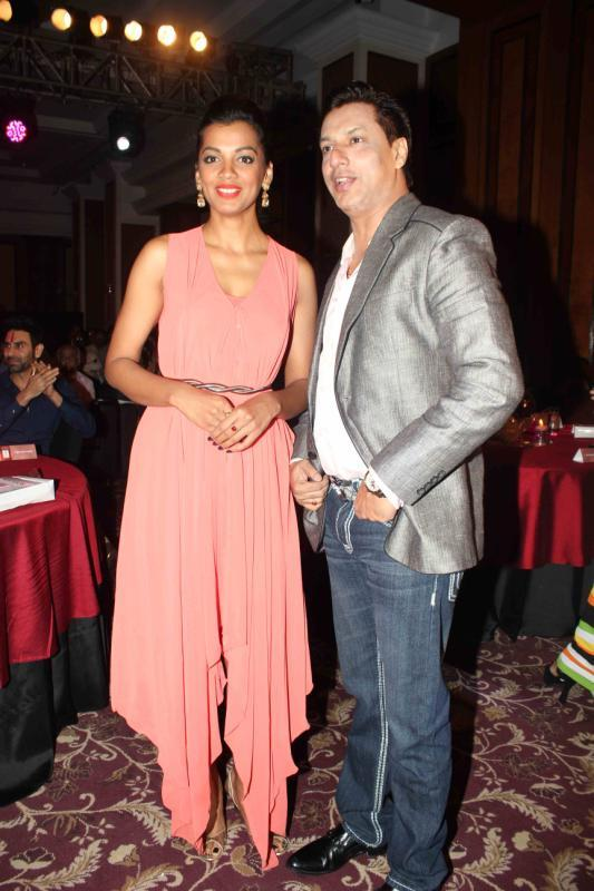 Mugdha And Madhur Present During The 25th Anniversary Celebration Of Shiva's Saloon And Academy