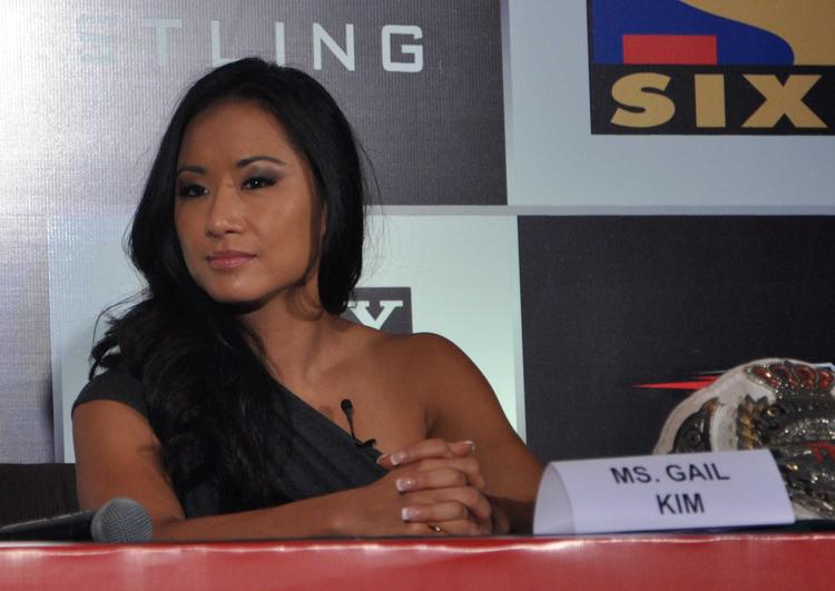 Gail Kim Present At The Sony Six And TNA Press Conference